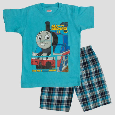 Thomas All aboard 45 Blue 2 piece Set