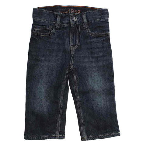 BABY GAP Boys regular fit Basic Denim Blue Jeans
