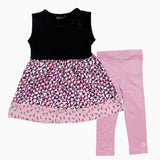 Inscene Black Mosaic and Pink Girls Bundle