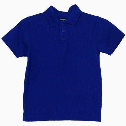 St mark blue boys polo