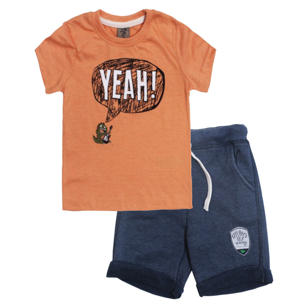 88a0bf49f60 KIKI KOKO Yeah Light Orange Boys 2 Piece Set – Globalstock