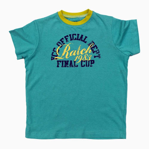 Final Cup Sky Blue Boys Tshirt