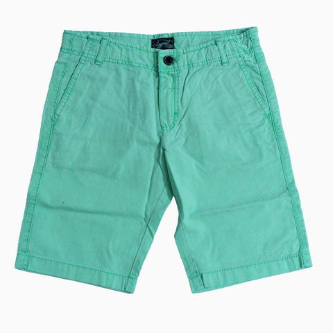 Mayoral lite green unisex shorts