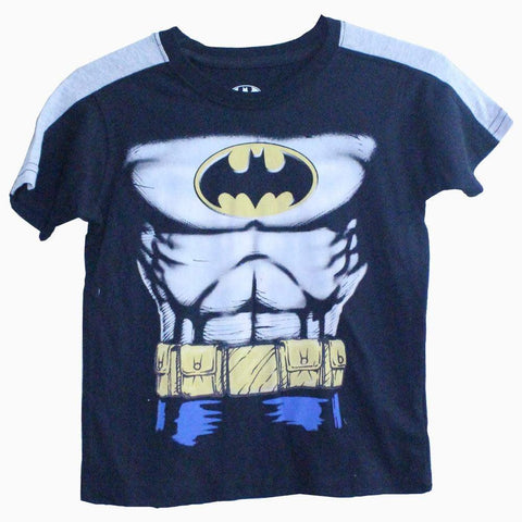 Batman chest boys black T-shirt