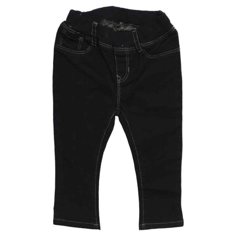 BABY GAP Black Girls Denim Jegging