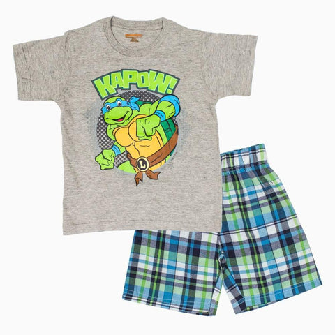 TMNT Kapow Boys 2 piece Set