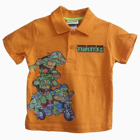 Ninja Turtle Orange Polo