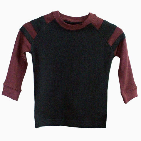 Smiths american maroon & black full sleeve Sweater Boys