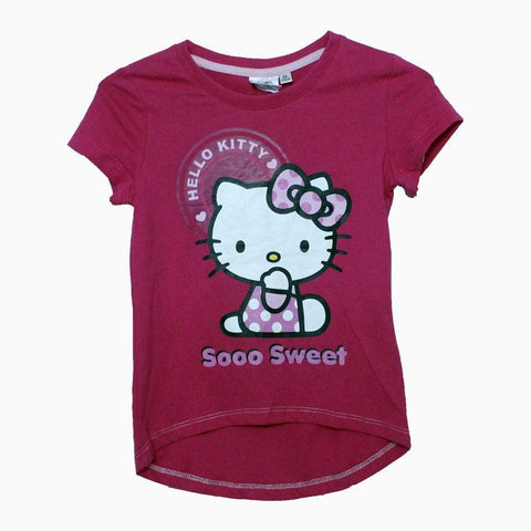 Hello Kitty Soo Sweet girls Hot pink Tshirt