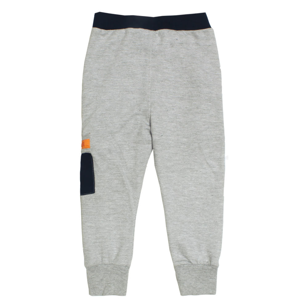 BLUE SEVEN Orange Style Dori Grey Boys Cotton Terry Trouser