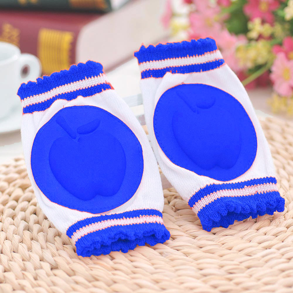 Baby Royal Blue Safety Foam Padded Knee Protector Pads