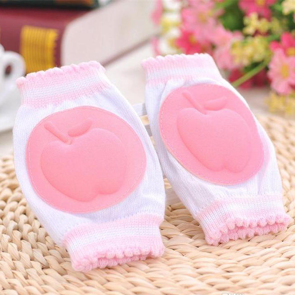 Baby Light Pink Safety Foam Padded Knee Protector Pads