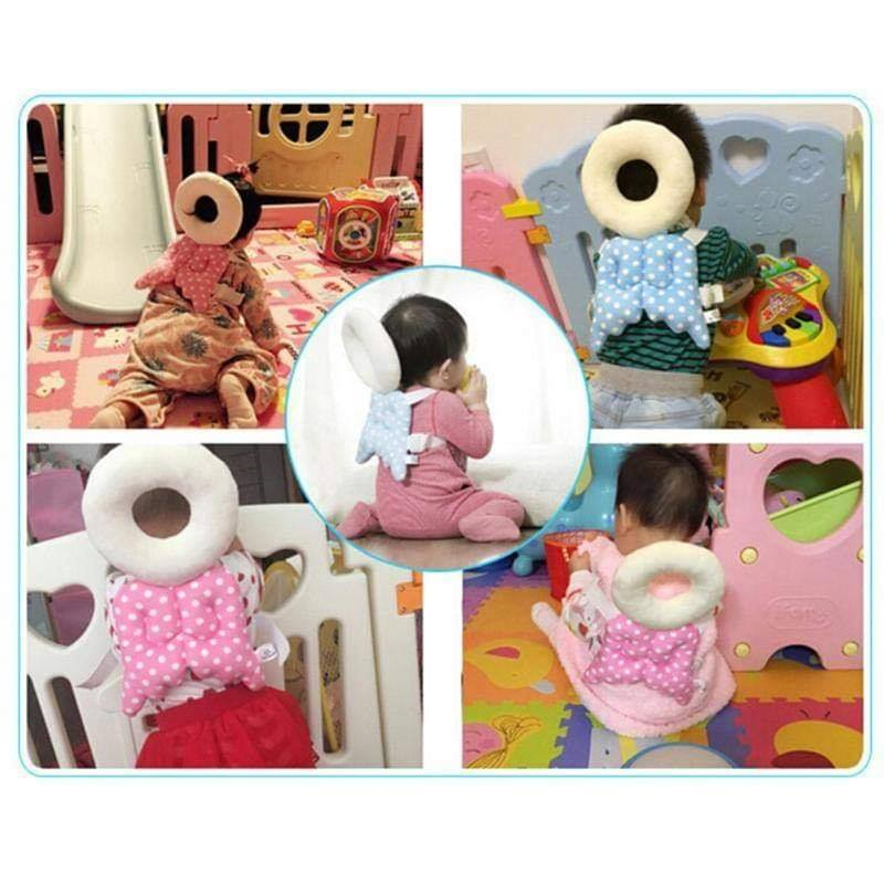 Baby Head Protection Pillow Wings Design