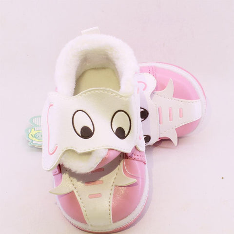 CHUBBY UHAA Elephant Pink Comfortable Flexible Girls Shoes