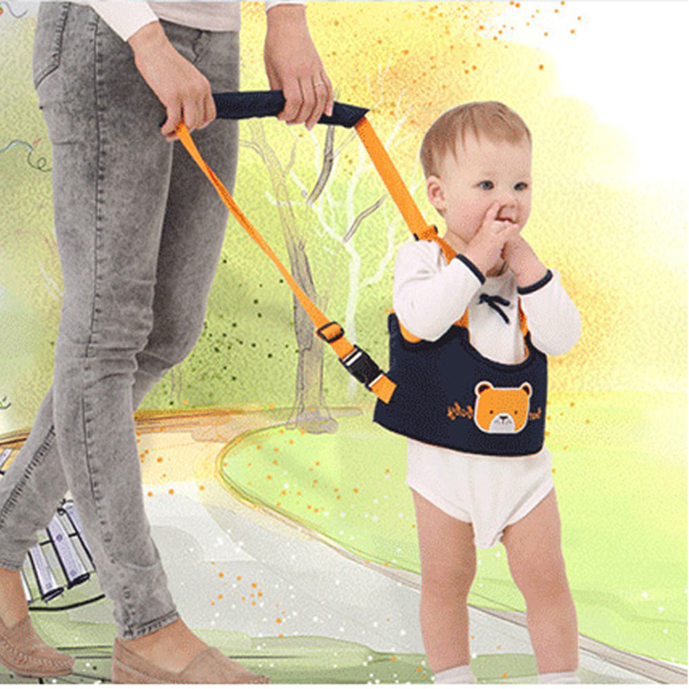 BEST BABY Infant Walking Toddler Adjustable Strap Assistant Cotton Belt