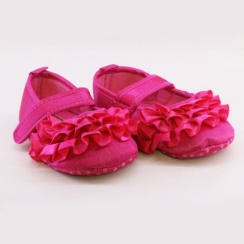Mother Care Girls Pink Pre Walker Shoes