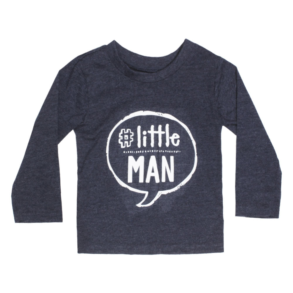 GEORGE Little Man Blue Boys Premium Cotton Tshirt
