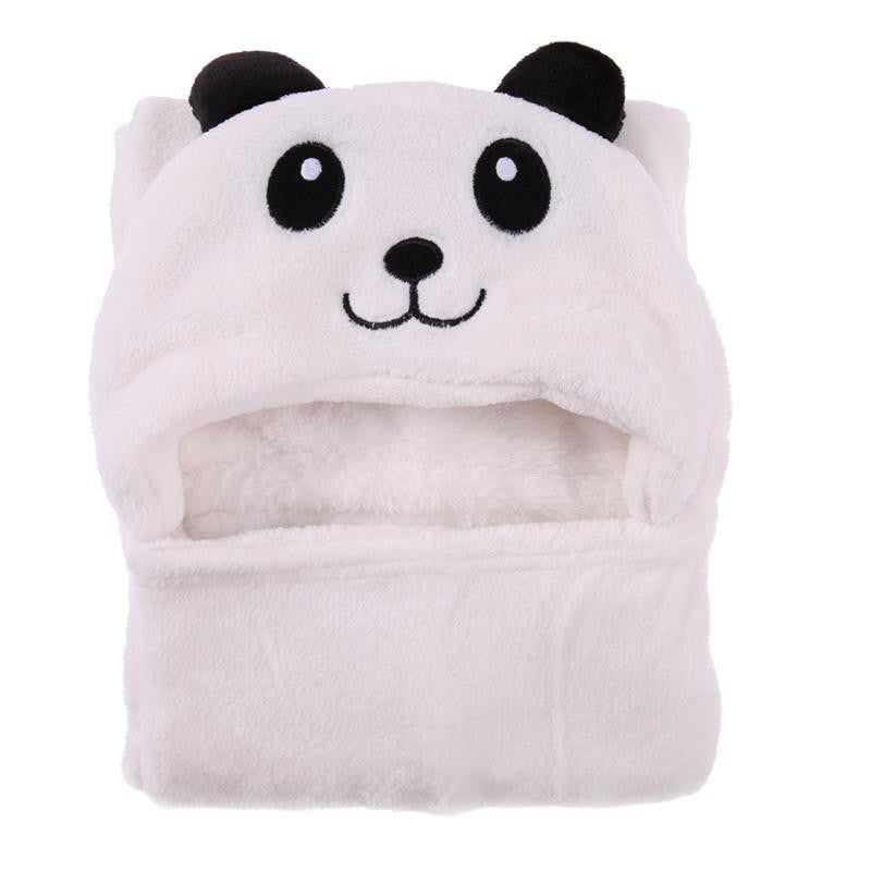 Carter's Happy Baby Panda Hooded Blanket