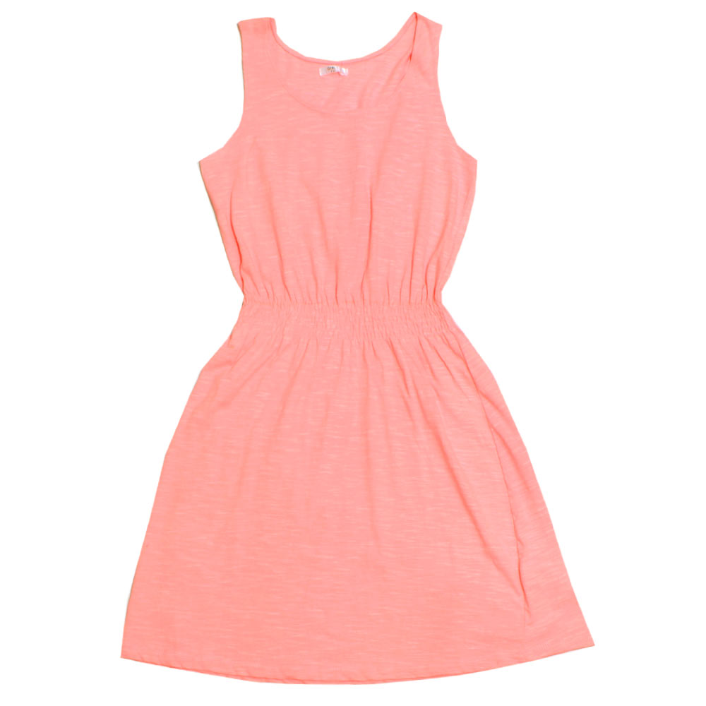 PEPCO Pink Girls Cotton Dress