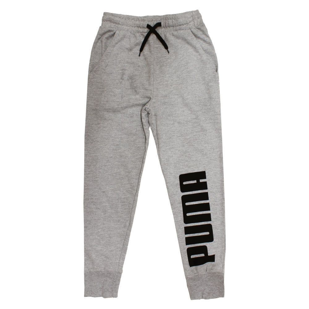 PUMA Black Print Black Dori Grey Boys Cotton Trouser