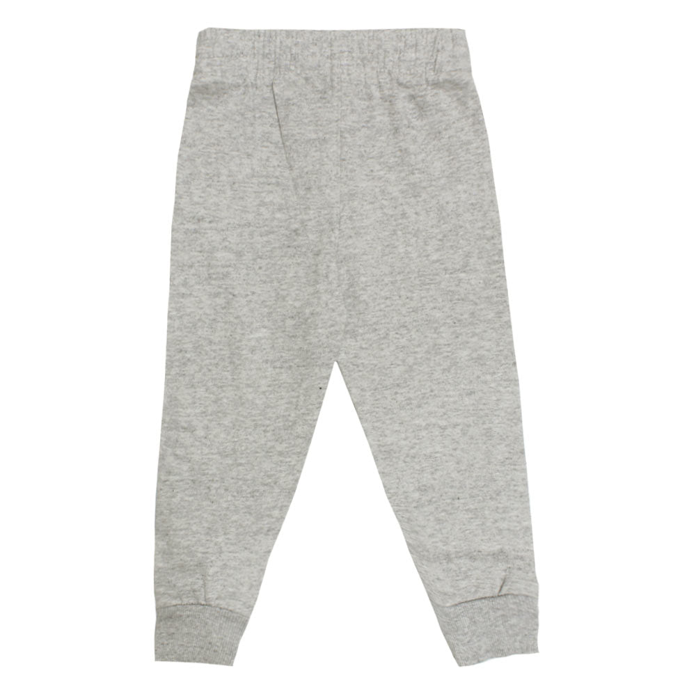 PUMA Blue Piping Grey Boys Cotton Trouser