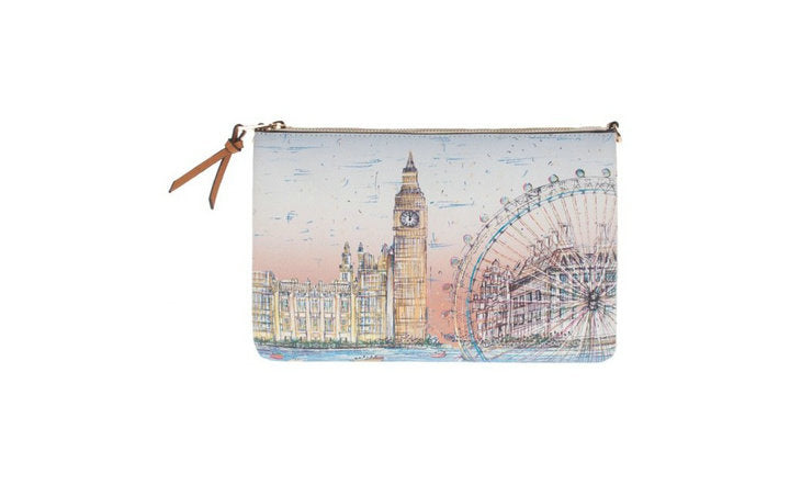 Parfois London Print CrossBody Bag