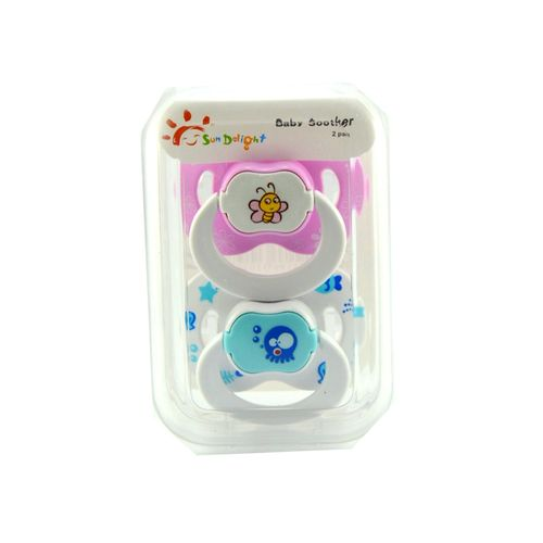 Sun Delight Pack of 2 Multi Color Baby Soother