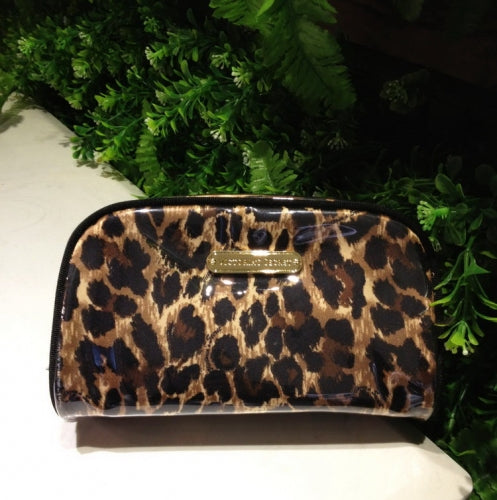 Victoria Secret Leopard Cosmetic Bag