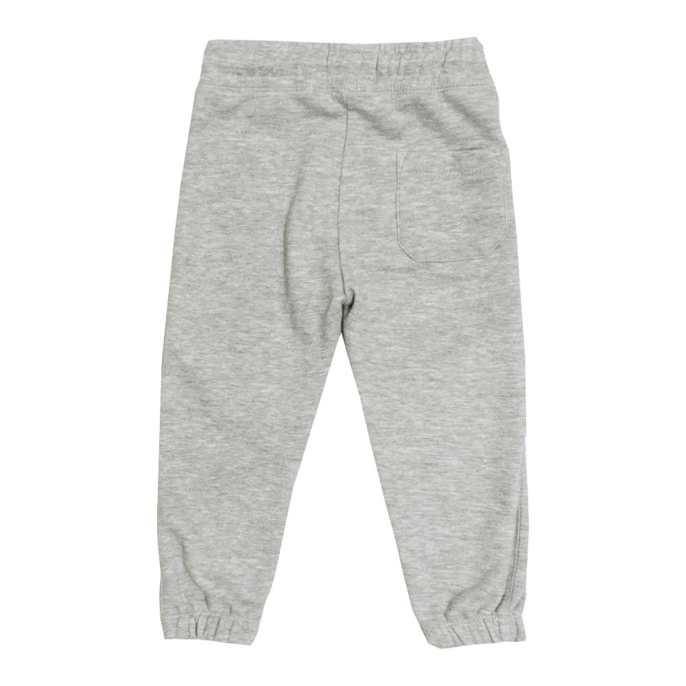 ZARA BOYS White Dori Grey Cotton Trouser