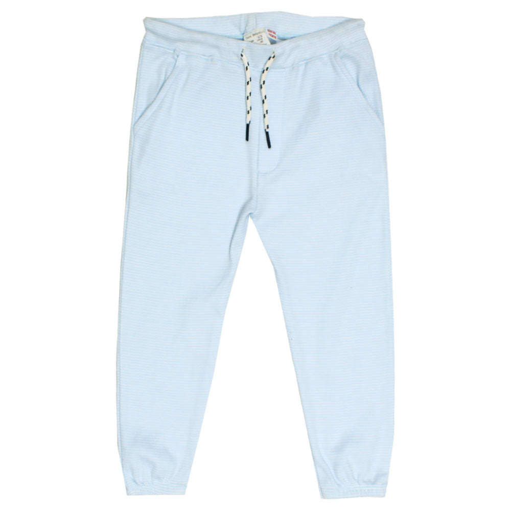 a2d7578f ZARA Blue And White Stripes Girls Cotton Trouser – Globalstock