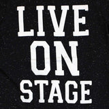 Peppers Girls Live in the Stage Black TShirt