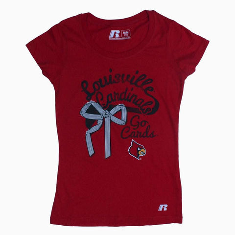 Louisvile Girls Red Tshirt