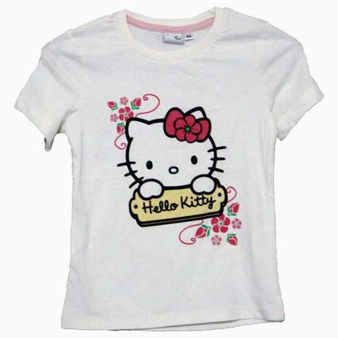 Hello kitty girl off-white tshirt