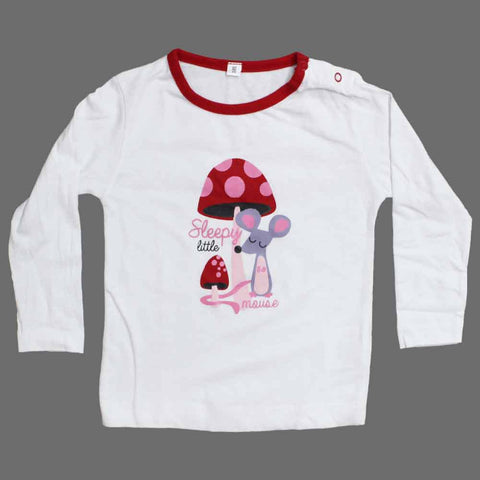 Sleepy Mouse Girls Night Tshirt