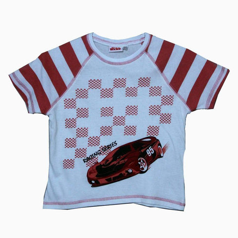 Star Wars Racing Series Red boys Tshirt