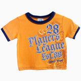 Players league orange boys 2 piece set