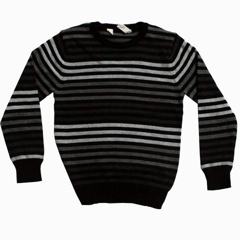 HnM (Cut Label) Grey Shades Striper Boys Sweater