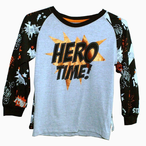 REBELS Full Sleeves with Cape Hero Time Boys Tshirt