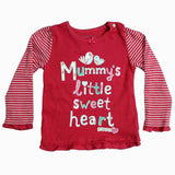 Mummys Little Sweetheart Pink girls Tshirt