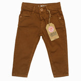 Lincoln Sharks Brown Boys Cotton Pant