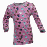 Pink Cats all over print tshirt