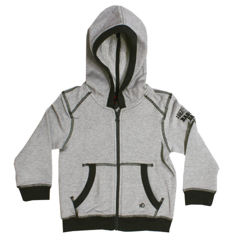 S.OLIVER Pocket Embroidery Grey Boys Cotton Premium Hoodie