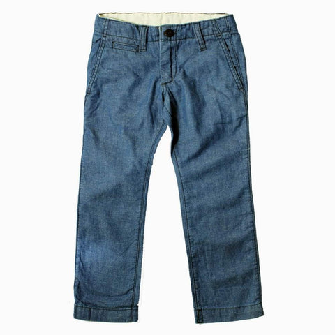 Gap Kids Boys Navy Blue Cotton Pant