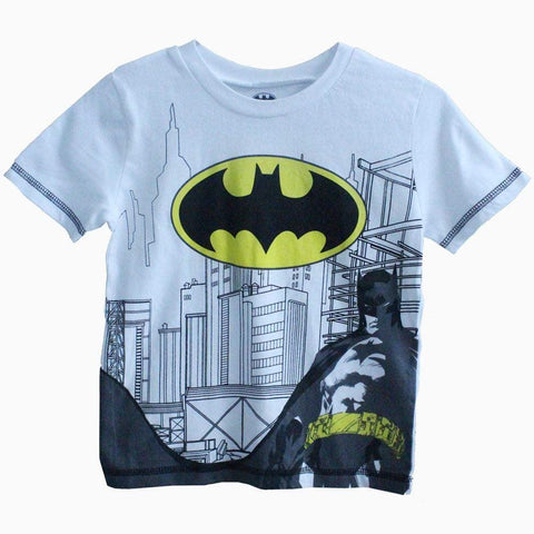 batman white boys tshirt