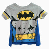 Batman boys cape tshirt