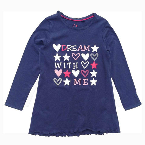 Lupilu dream with me girls purple tshirt