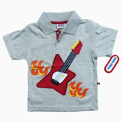 LITTLE TIKES Guitar Grey Boys Polo