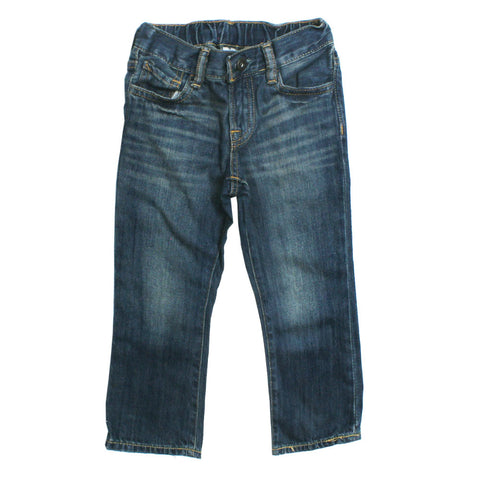 BABY GAP Light Sand Washed Light Blue Denim Jeans