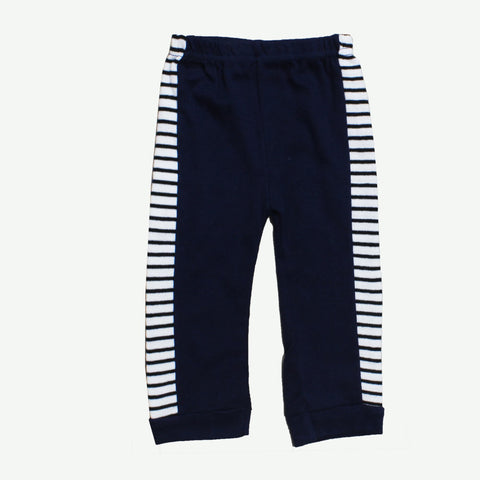 LILY and JACK Boys Blue and White Stripes Cotton Trouser