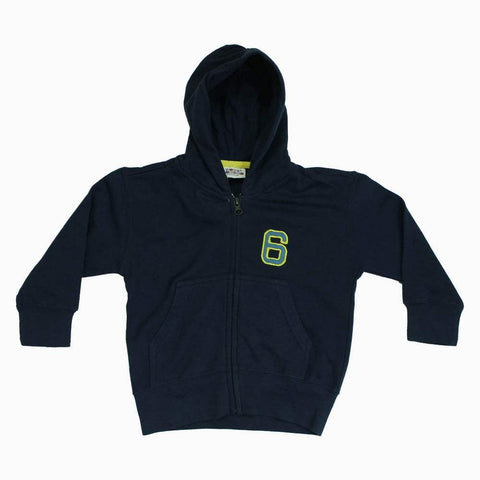 Navy Blue Light weight 6 Applique Hoodie